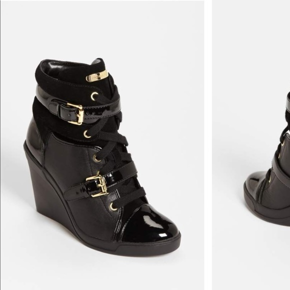 5a440c7e017 Michael michael kors skid wedge sneakers size 6. M 5a6686a2a4c485d0681ed9bf